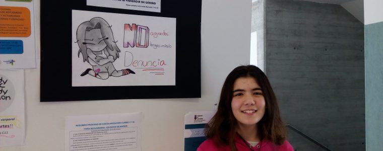 Ganadora II Concurso contra la violencia de género